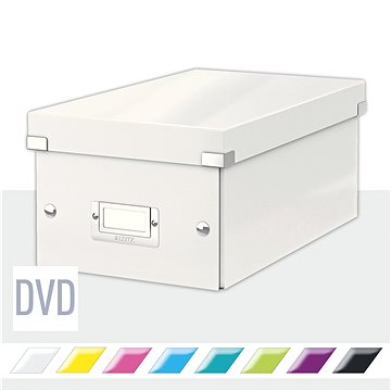 Leitz WOW Click & Store DVD 10.66 l, bílá (60420001)