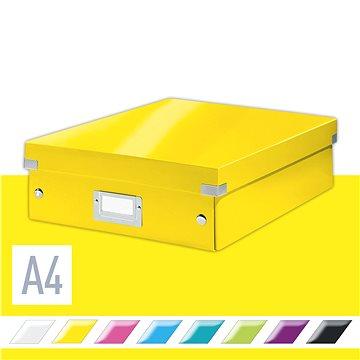 Leitz WOW Click & Store 10.39 l, žlutá (60580016)