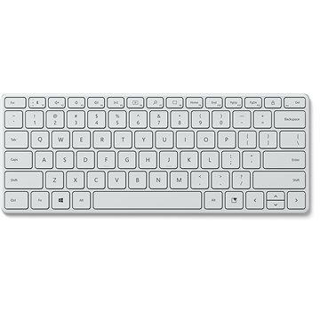 Microsoft Designer Compact Keyboard, Glacier - CZ/SK (21Y-00044)
