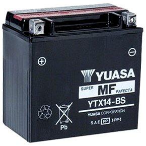 YUASA YTX14-BS, 12V, 12Ah (YTX14-BS)