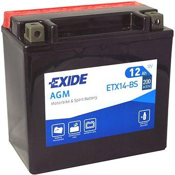 EXIDE ETX14-BS, 12V, 12Ah, 200A (ETX14-BS)