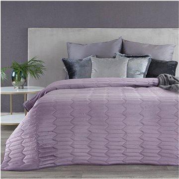 MyBestHome Přehoz na postel GRAYS 220x240 cm fialová (5903571045898)