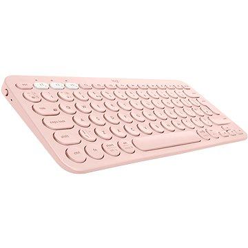 Logitech Bluetooth Multi-Device Keyboard K380 pro Mac, růžová - US INTL (920-010406)