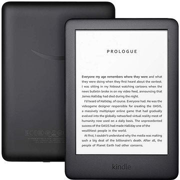 Amazon New Kindle 2020 černý - BEZ REKLAMY (B07FPX819Q)