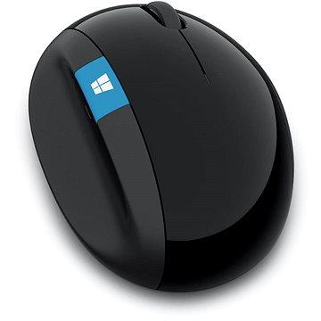 Microsoft Sculpt Ergonomic Mouse Wireless, černá (L6V-00005)