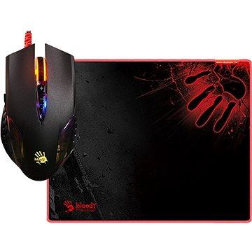 A4tech Bloody Neon XGlide Q5081S set myši Q50 + podložka B-081S (Q5081S)