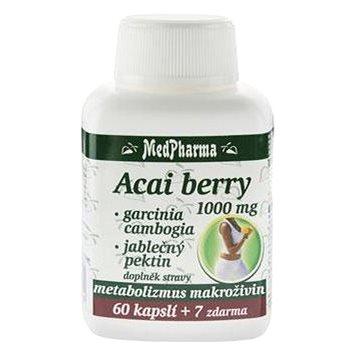 MedPharma Acai berry 1000 mg + Garcinia - 67 kapslí (8594045475296)