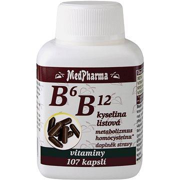 MedPharma B6 B12 + kyselina listová - 107 tbl. (3981371)