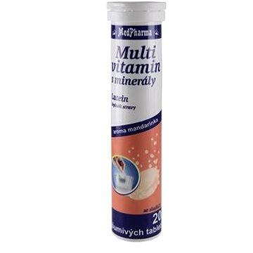 MedPharma Multivitamin s minerály + lutein - 20 tbl. effer. (8594045471083)