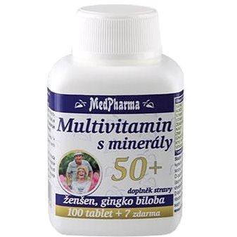 MedPharma Multivitamin s minerály 50+ - 107 tbl. (8594045475456)