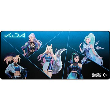 Logitech G840 XL Gaming Mousepad K/DA edice (943-000457)