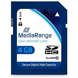 MEDIARANGE SDHC 4GB Class 10 (MR961)