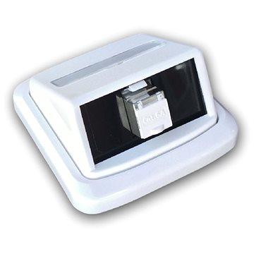 Datacom ABB Tango Datová zásuvka STP CAT6A 1xRJ45 Skey bílá (2396)