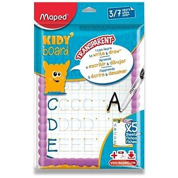 Maped Kidy´Board mazací tabulka dětská, mix barev (583710)