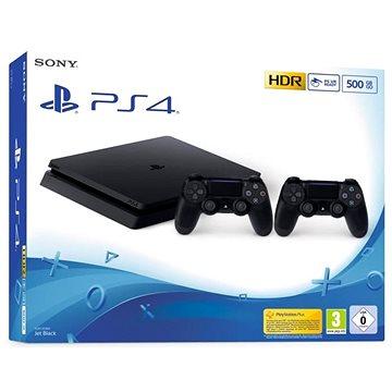 PlayStation 4 Slim 500GB + Extra DualShock 4 (711719775317)