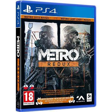 Metro Redux - PS4 (4020628886219)