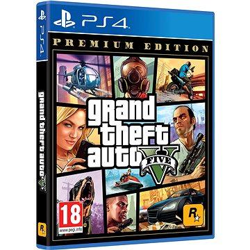 Grand Theft Auto V (GTA 5): Premium Edition - PS4 (5026555424264)