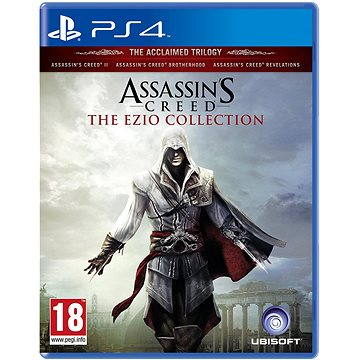 Assassins Creed The Ezio Collection - PS4 (3307215977422)