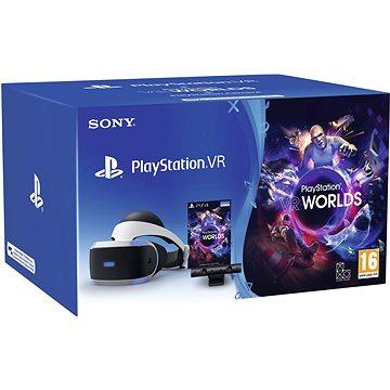 PlayStation VR pro PS4 + hra VR Worlds + PS4 Kamera (PS719782612)