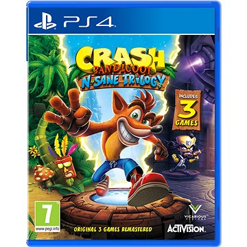 Crash Bandicoot N Sane Trilogy - PS4 (88222EN)