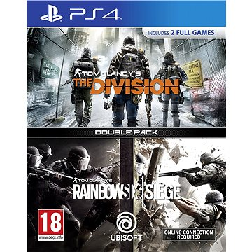 Rainbow Six Siege + The Division DuoPack - PS4 (3307216028369)