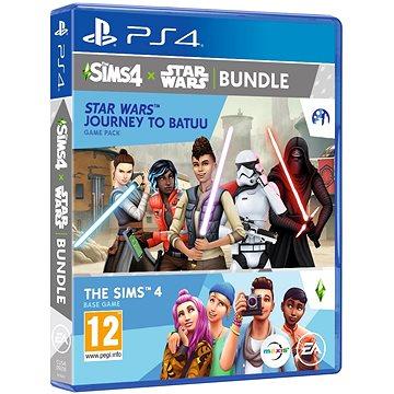 The Sims 4: Star Wars - Výprava na Batuu bundle (Plná hra + rozšíření) - PS4 (5030941124263)