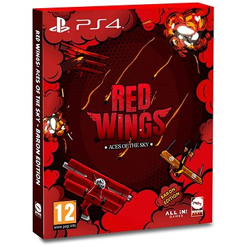 Red Wings: Aces of the Sky - Baron Edition - PS4 (8437020062343)
