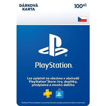 PlayStation Store - Kredit 100 Kč - CZ Digital (SCEE-CZ-00010000)
