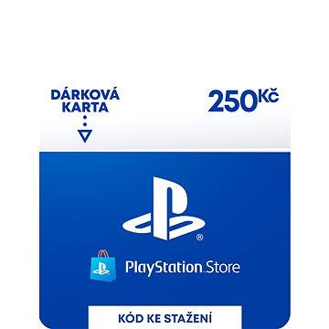PlayStation Store - Kredit 250 Kč - CZ Digital (SCEE-CZ-00025000)