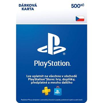 PlayStation Store - Kredit 500 Kč - CZ Digital (SCEE-CZ-00050000)