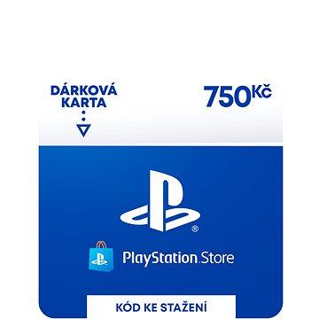 PlayStation Store - Kredit 750 Kč - CZ Digital (SCEE-CZ-00075000)