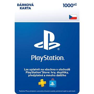 PlayStation Store - Kredit 1000 Kč - CZ Digital (SCEE-CZ-00100000)