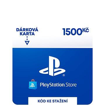 PlayStation Store - Kredit 1500 Kč - CZ Digital (SCEE-CZ-00150000)