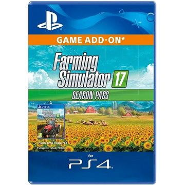 Farming Simulator 17 - Season Pass - PS4 CZ Digital (SCEE-XX-S0029079)