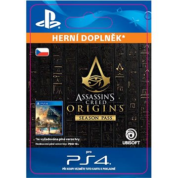 Assassins Creed Origins - Season Pass - PS4 CZ Digital (SCEE-XX-S0034100)