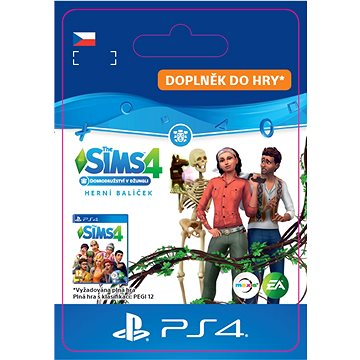 The Sims 4 Jungle Adventure - PS4 CZ Digital (SCEE-XX-S0042245)
