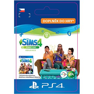 The Sims 4 Domácí kino - PS4 CZ Digital (SCEE-XX-S0043245)