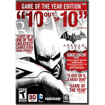Batman: Arkham City Game of the Year Edition (86065)