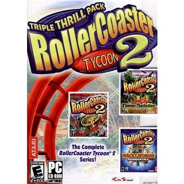 RollerCoaster Tycoon® 2: Triple Thrill Pack (PC) DIGITAL (255313)