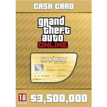 Grand Theft Auto V (GTA 5): Whale Shark Card (PC) DIGITAL (283611)