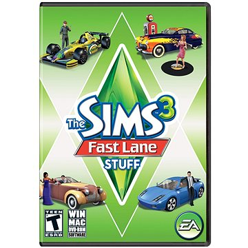 The Sims 3 Na plný plyn (kolekce) (PC) DIGITAL (414996)