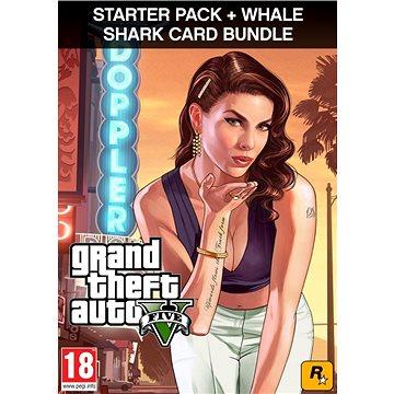 Grand Theft Auto V (GTA 5) + Criminal Enterprise Starter Pack + Whale Shark Card (PC) DIGITAL (406464)