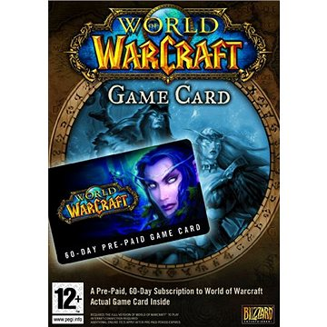 World of Warcraft 60-day time card (PC) DIGITAL (443646)