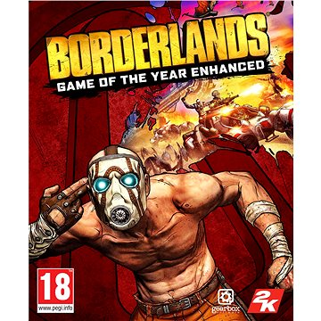 Borderlands: Game of the Year Enhanced (PC) Klíč Steam (726955)