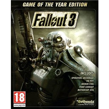 Fallout 3 Game Of The Year Edition - PC DIGITAL (836818)
