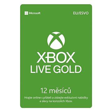 Xbox Live Gold - 12 měsíční členství (S4T-00026)