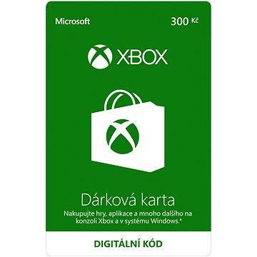 Xbox Live Dárková karta v hodnotě 300Kč (K4W-01596)