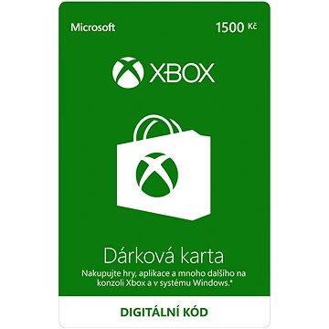 Xbox Live Dárková karta v hodnotě 1500Kč (K4W-01599)