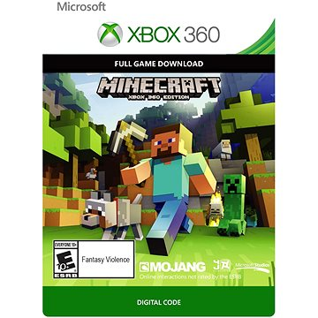 Minecraft - Xbox 360 DIGITAL (7D6-00023)