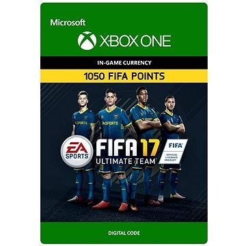 FIFA 17 Ultimate Team FIFA Points 1050 DIGITAL (7F6-00064)